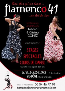 Tatiana GOMEZ, Association Flamenco 41