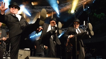 Jazz'in Cheverny 2016 - Les Blues Brothers - Photo Thibault Lajouanie